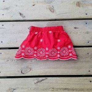 Adorable baby girls Oshkosh B' Gosh skirt